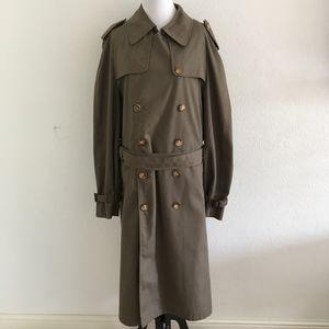 Christian Dior Monsieur Vintage Trench Coat 42 L